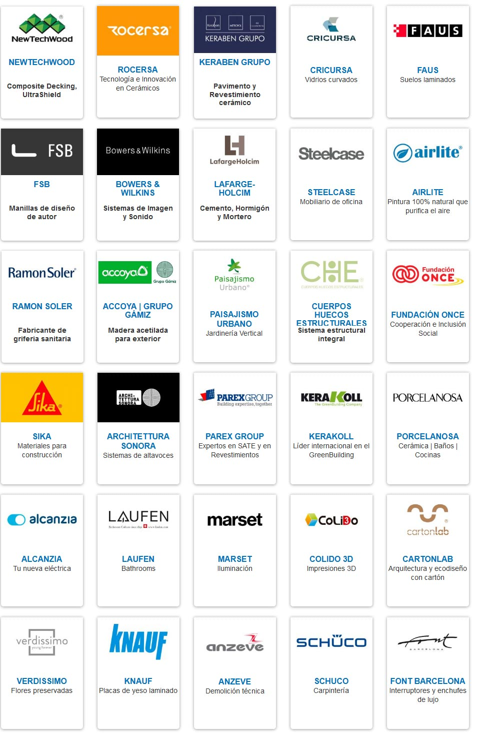 Empresas Foro Contract Madrid