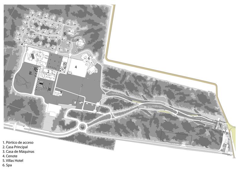 Arquitectura_CHABLE_plano del conjunto arquitectonico