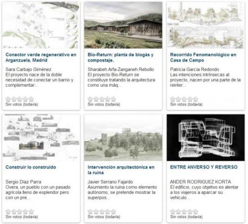 arquitectura, concurso nacional, proyecto final de carrera, arquitecturayempresa