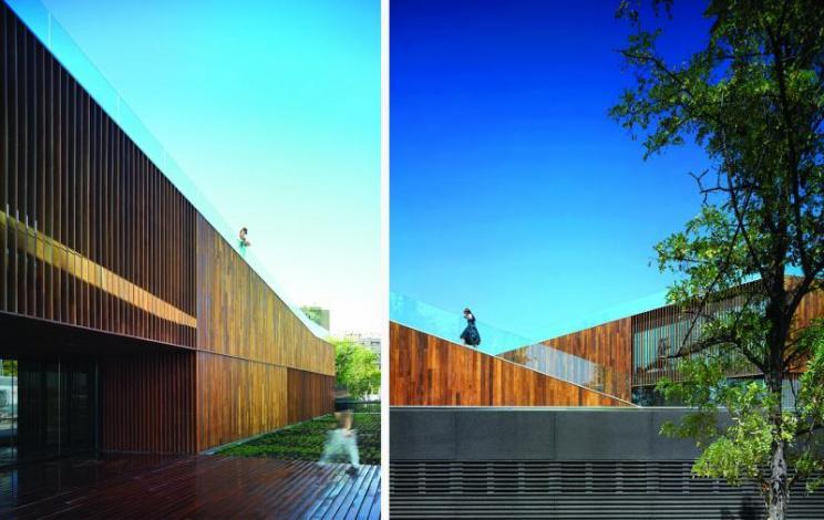 Arquitectura, Magen arquitectos, Zaragoza, Centro Ambiental, Ebro