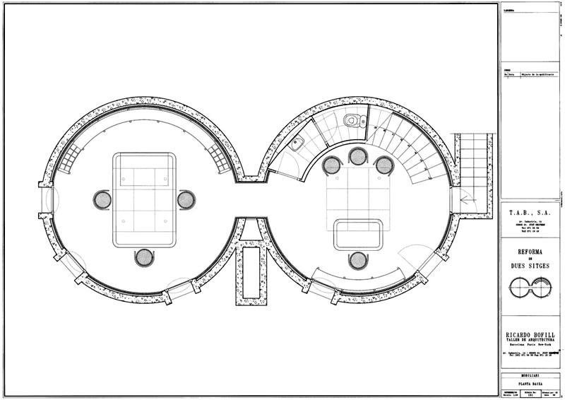 Arquitectura_La Fabrica_Bofill_Los silos planta