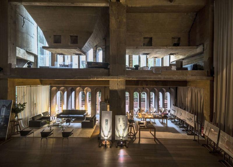 arquitectura_la Fabrica_Bofill-la catedral interior