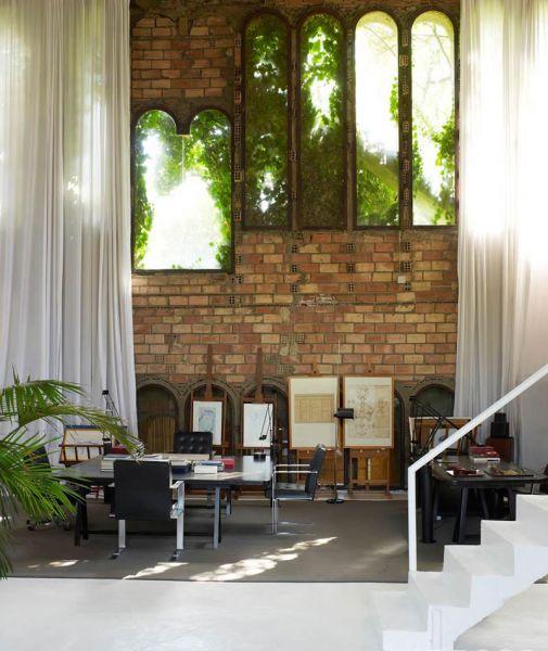 Arquitectura_La Fabrica_Bofill_imagen interior ventanas