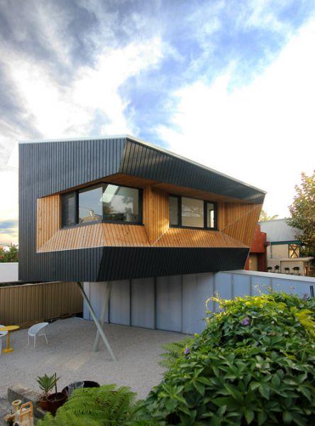 arquitectura_Braham Architects_Beach Office_volumen elevado