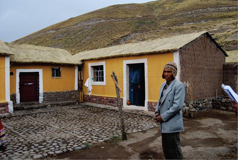 Programa de vivienda rural y desarrollo social en sibayo per arquitectura - Trabajo en casas rurales ...