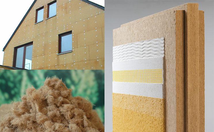 Respeto y eficacia aislantes de fibra de madera arquitectura - Madera aislante termico ...