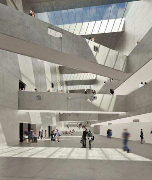 Bernard Tschumi Architects, ANIMA, centro cultural, Grottamare, Italia