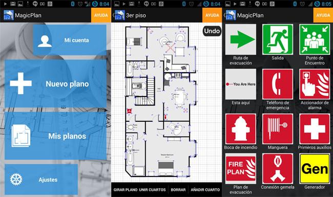 app para dibujar planos magicplan arquitectura
