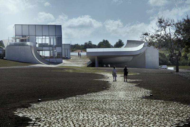 arquitecto Steven Holl_alzado acceso