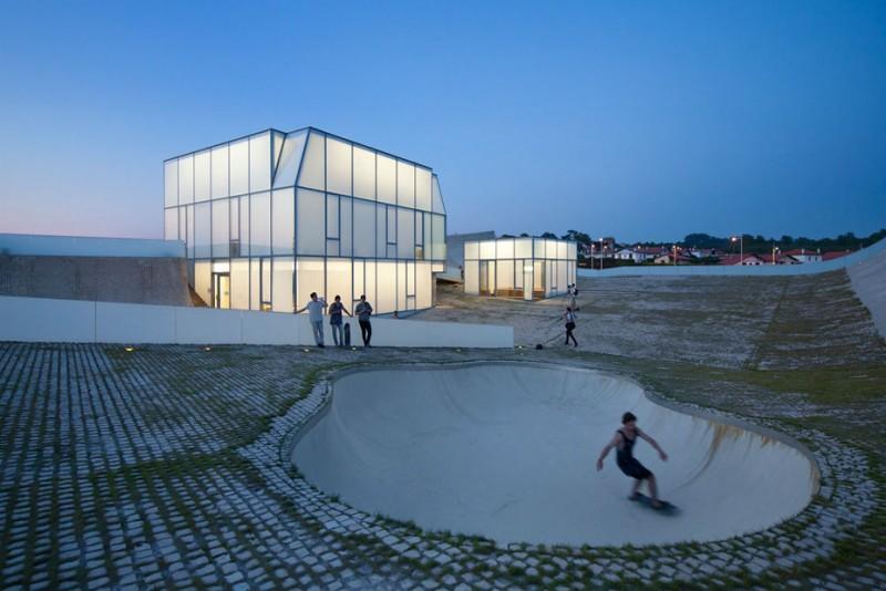 arquitecto Steven Holl_cajas de luz y piscina