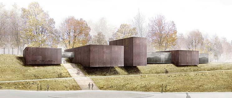 fotografa cedric meravilles grand rodez parque pedra tosca rcr arquitectos