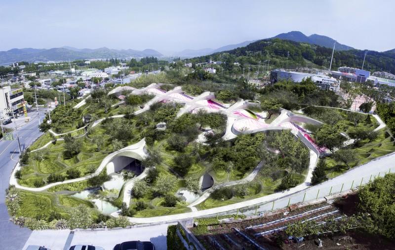 Arquitectos Young & Ayata_Dalseong gymnasium