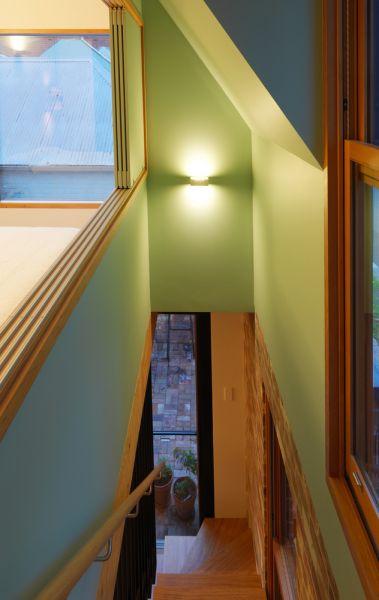 arquitectura _y_empresa_Imprint_House_ escalera