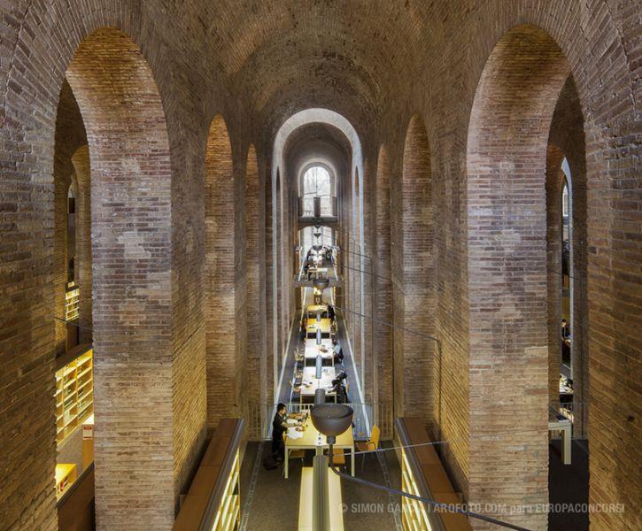Arquitectura-Depósito de las Aguas-Barcelona