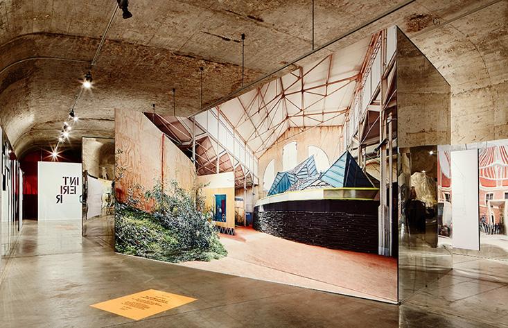 Interior el pabell n de espa a en la biennale ahora en for Arquitectura de interiores madrid
