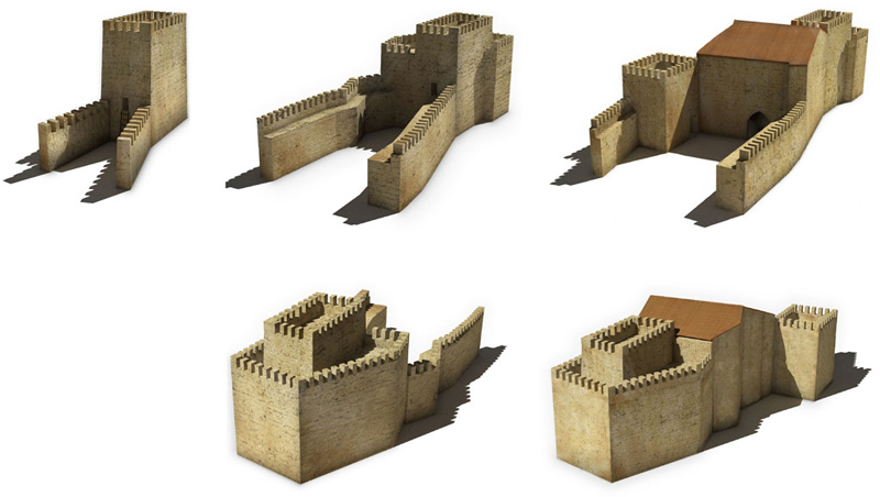 Arquitectura plan palacio chelva