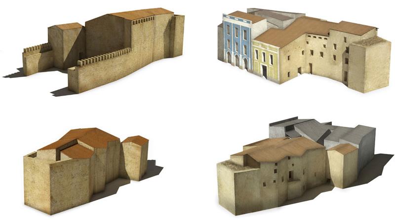 arquitectura plan director Palacio Chelva infografias