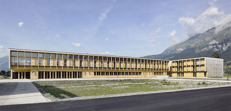 arquitectura accoya Landwirtschaftliches Zentrum vigam