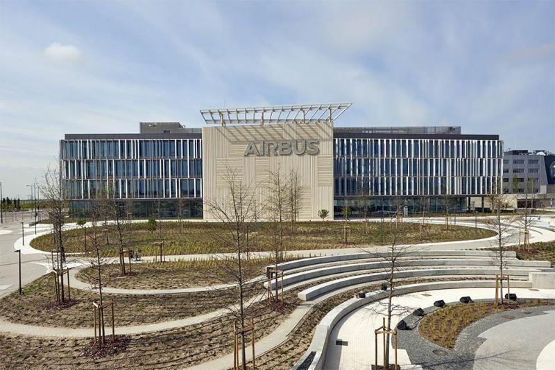 Arquitectura Sede Airbus futura estudio lamela