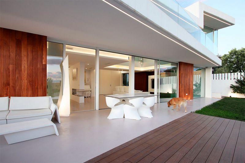 arquitectura casa lujan perretta arquitectura foto exterior porche