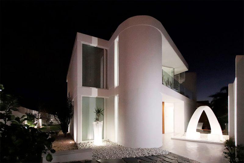 arquitectura casa lujan perretta arquitectura foto exterior trasera curva