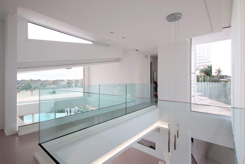 arquitectura casa lujan perretta arquitectura foto interior doble altura