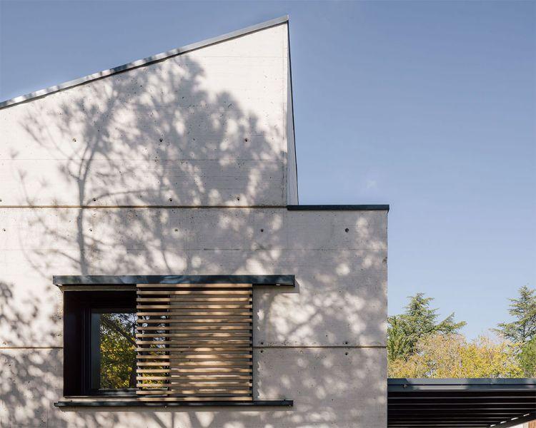 arquitectura casa oma fotografia exterior detalle cubierta