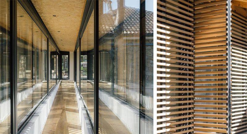 arquitectura casa oma fotografia pasillo lamas madera