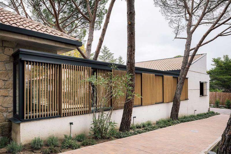 arquitectura casa oma fotografia exterior alzado lamas