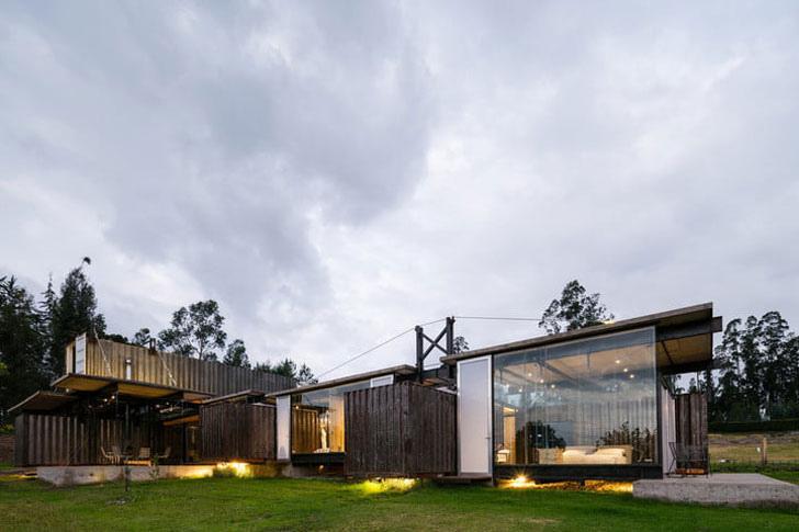 arquitectura casa contenedores think box