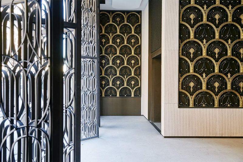 arquitectura centro canalejas estudio lamela acceso puertas art deco