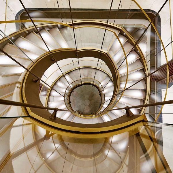 arquitectura centro canalejas estudio lamela interior hall escaleras