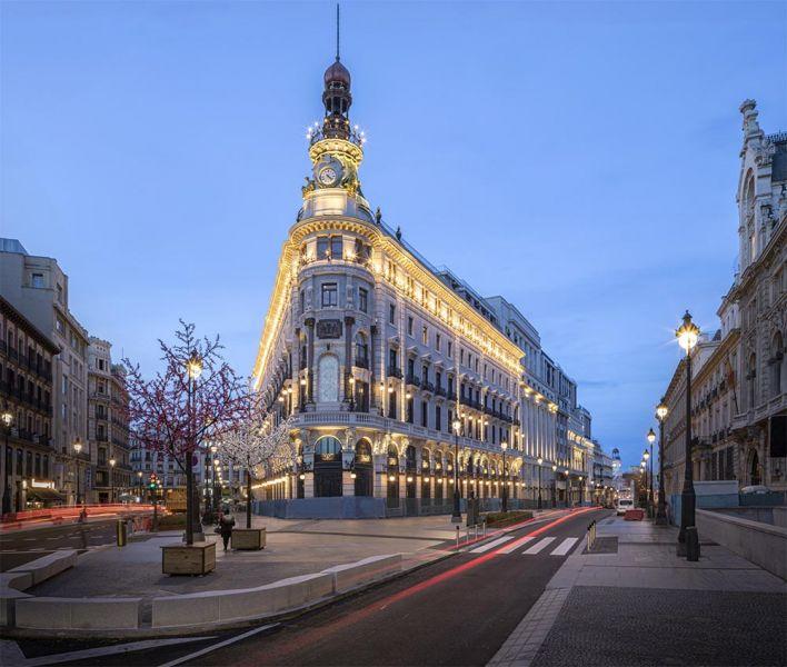 arquitectura centro canalejas estudio lamela vista general fachada principal
