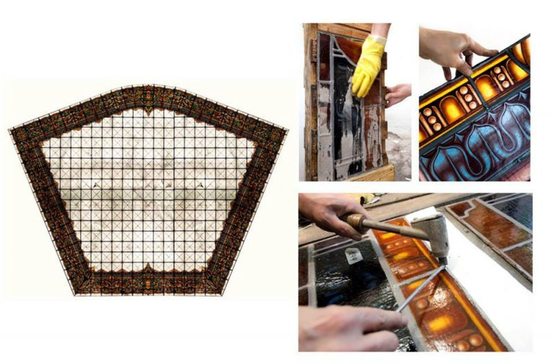 arquitectura centro canalejas estudio lamela restauracion lucernario