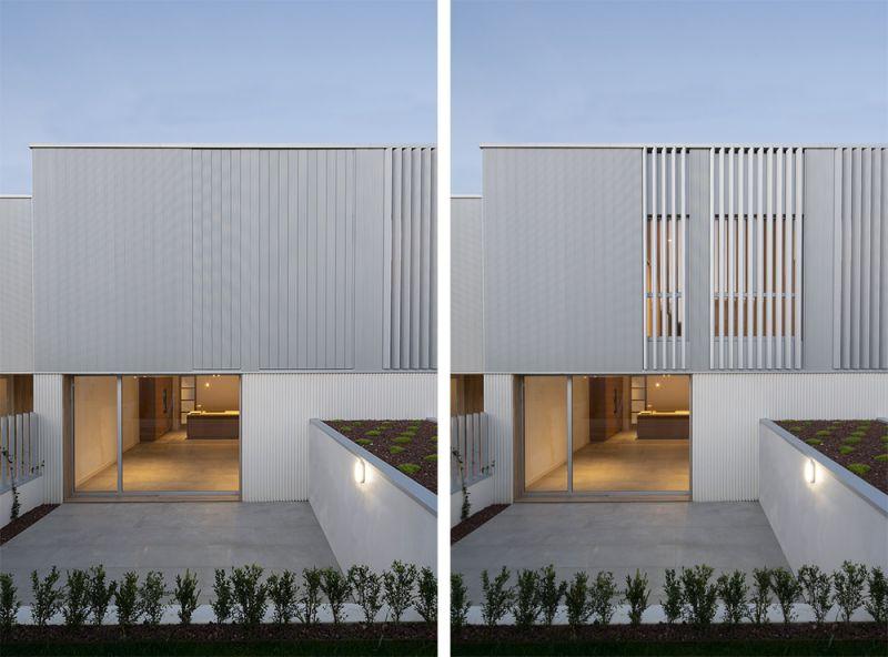 arquitectura diaz y diaz arquitectos viviendas as galeras foto exterior detalle lamas cerramiento