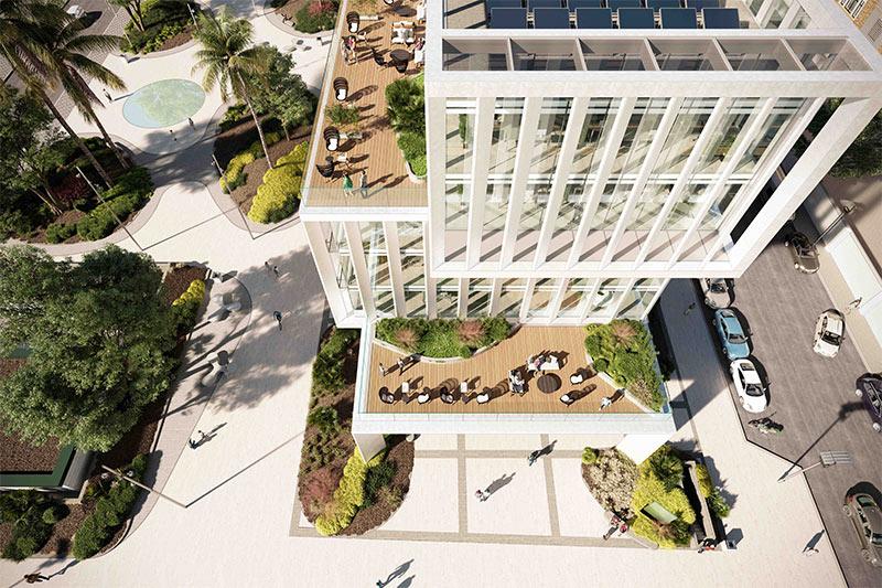 arquitectura oficinas agora malaga dpya arquitectura render