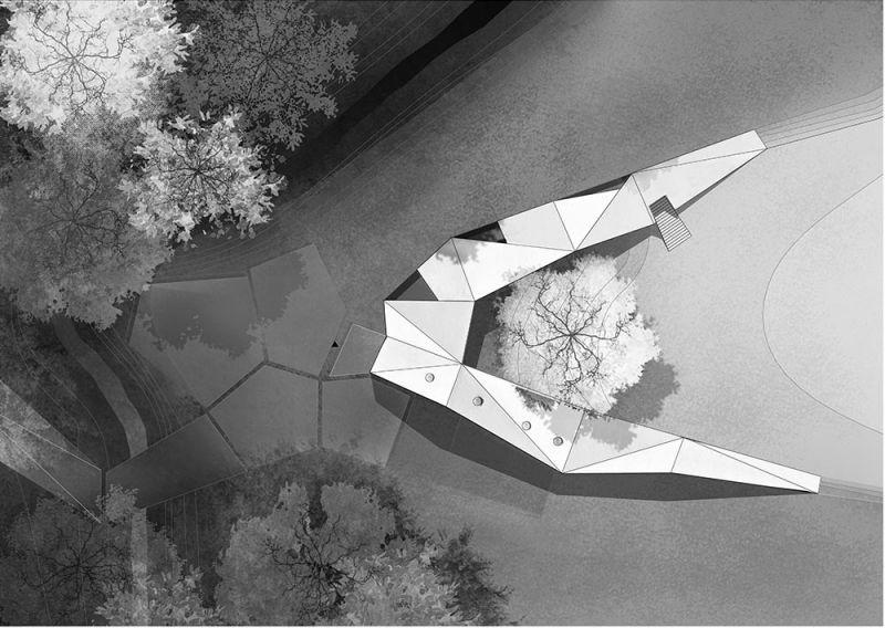 arquitectura centro de biodiversidad agricola loja planta plano