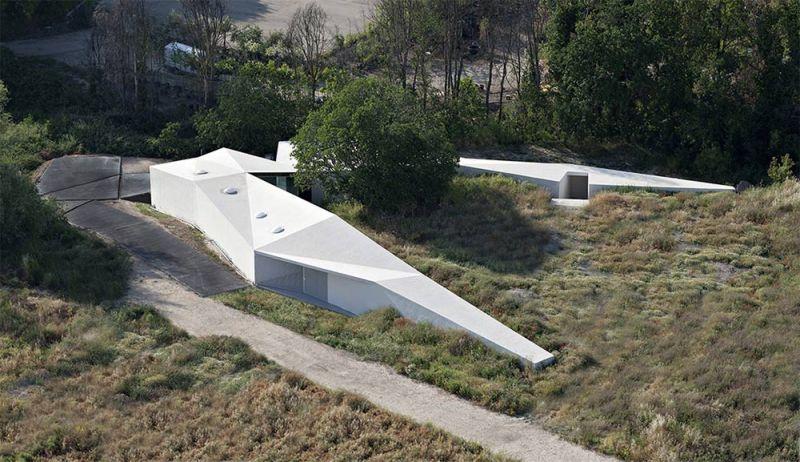 arquitectura centro de biodiversidad agricola loja aerea