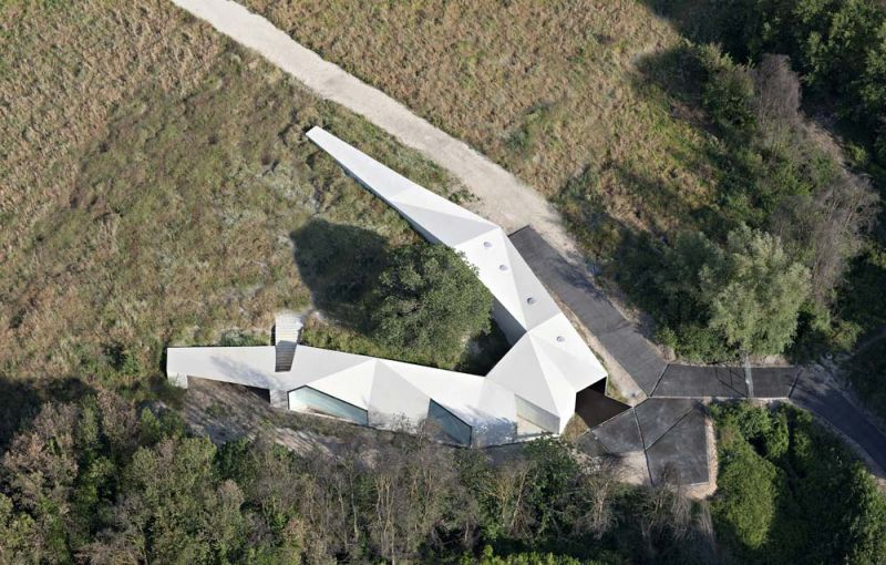 arquitectura centro de biodiversidad agricola loja aerea cubiertas
