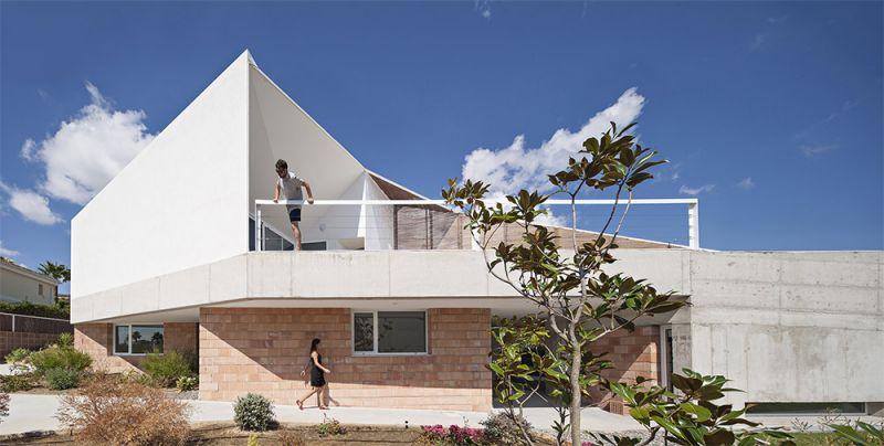 arquitectura la casa de los vientos alzado principal
