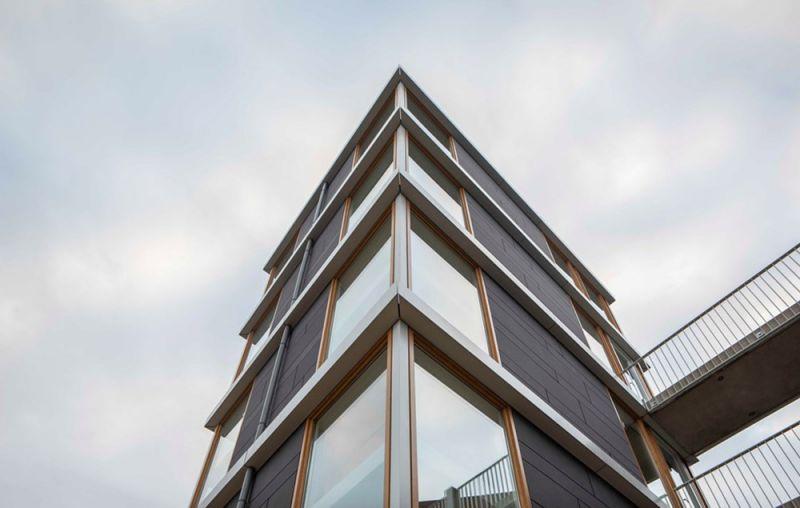 arquitectura ascensor de laestacion de bomberos de vicalvaro