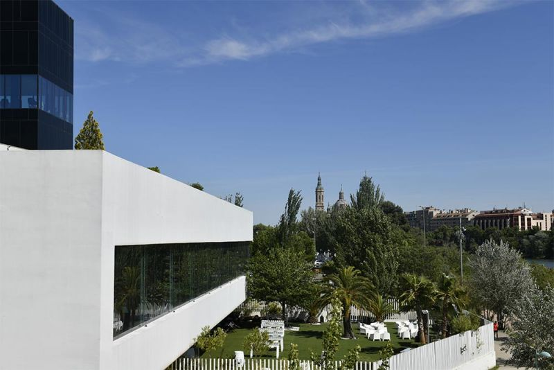arquitectura y empresa foro contract zaragoza 2021 espacio Aura