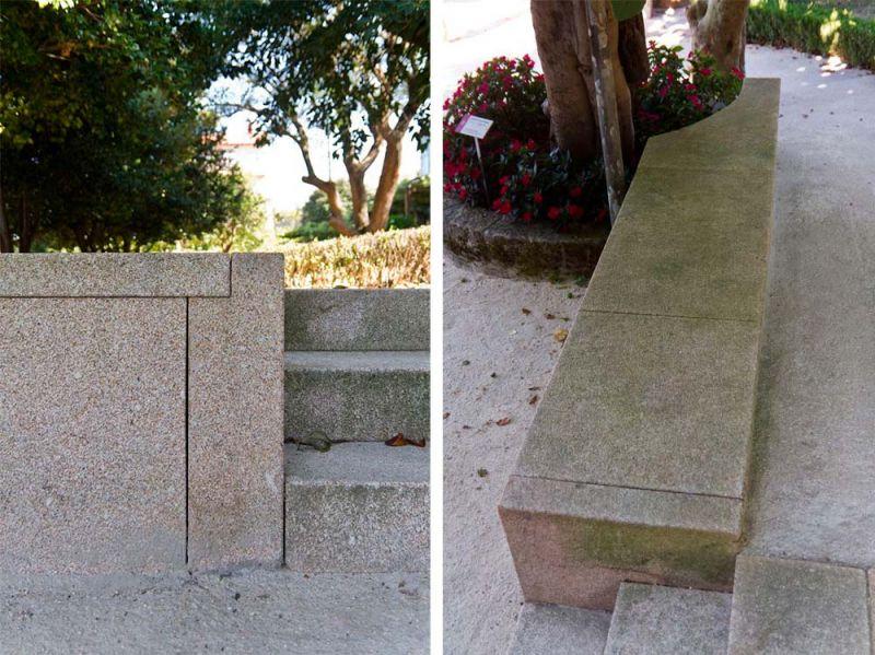 arquitectura casa museo rosalia de castro foto exterior conjunto pavimento i pro stabex heidelbergcement hispania