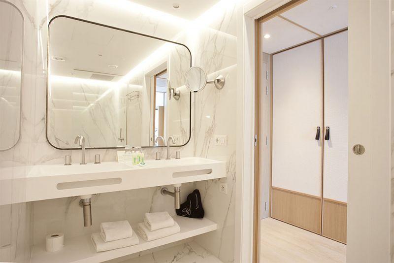 arquitectura hotel mim mallorca arquitectura gmm foto habitacion baño