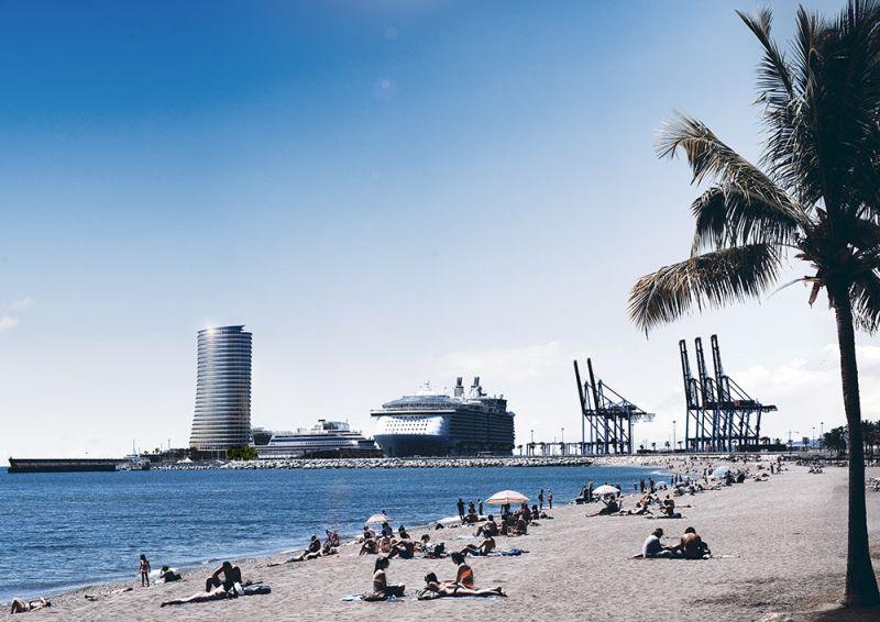 arquitectura estudio segui hotel torre del puerto render 3d visual effects