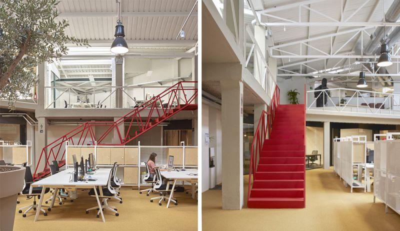 arquitectura wayco ruzafa escaleras recorridos