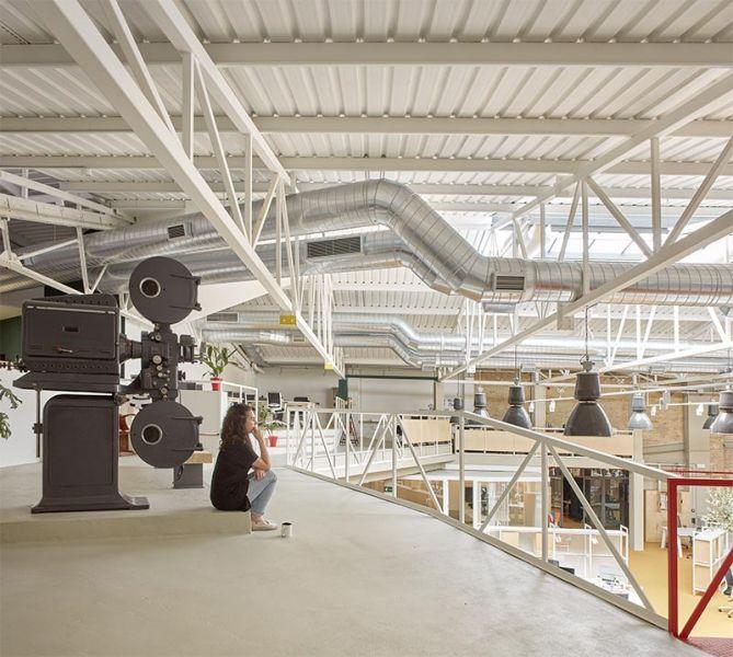 arquitectura wayco ruzafa cubierta instalaciones vistas