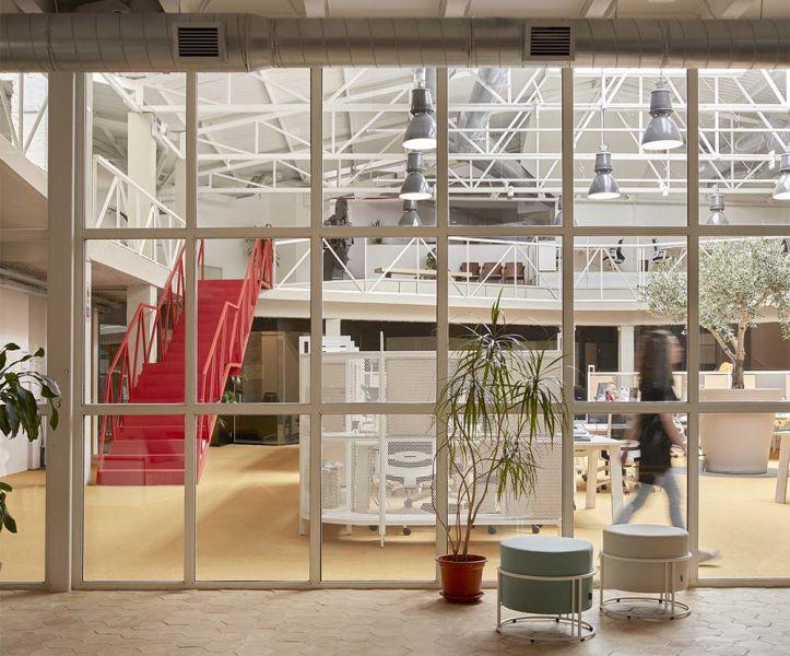 arquitectura wayco ruzafa cristalera metalica industrial