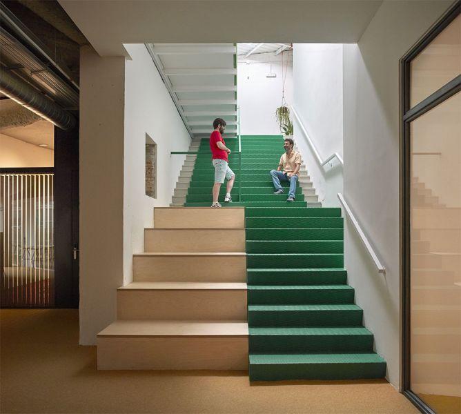 arquitectura wayco ruzafa escaleras alfombra