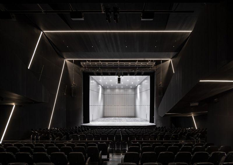 arquitectura muxikebarri sala auditorio